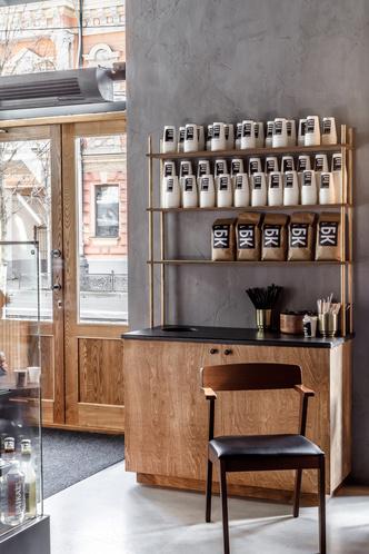 Кофейня в Краснодаре в стиле лофт (фото 6.1)
