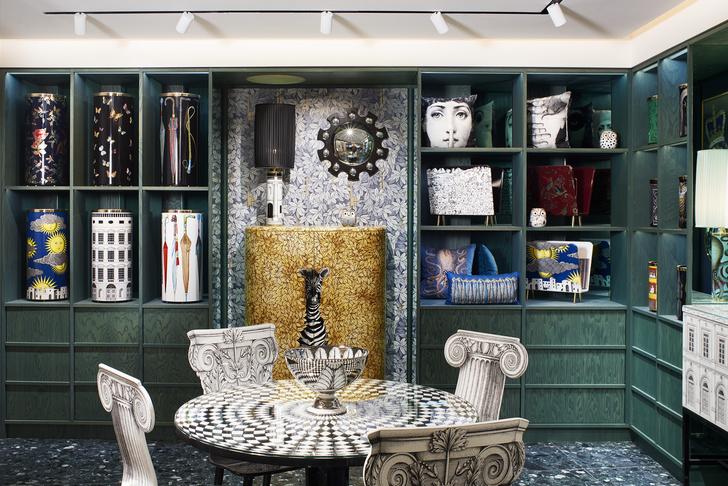Новый бутик Fornasetti в универмаге Harrods (фото 4)
