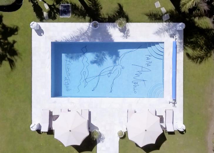 В Марбелье продается вилла с эскизом Пикассо на дне бассейна (фото 1)