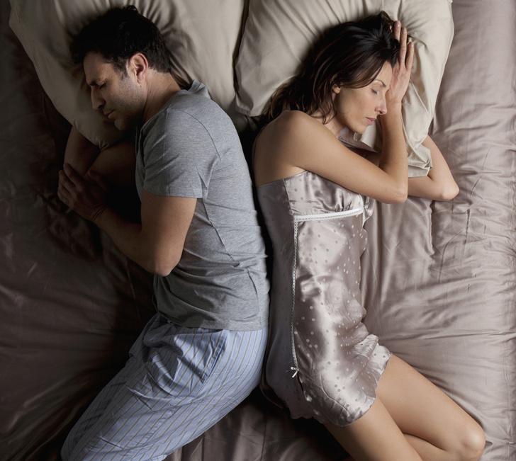 Позы сна с партнером