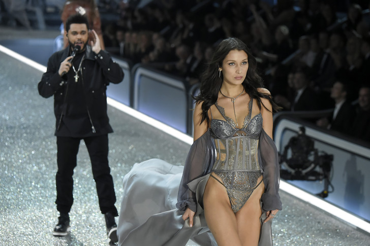 The Weeknd и Белла Хадид фото