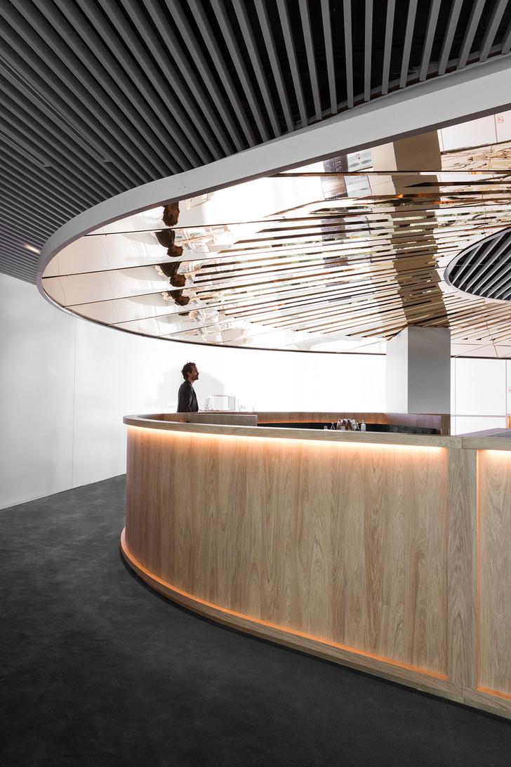 Бизнес-лаундж по проекту Матье Леаннера в Шарль-де-Голле (фото 2)