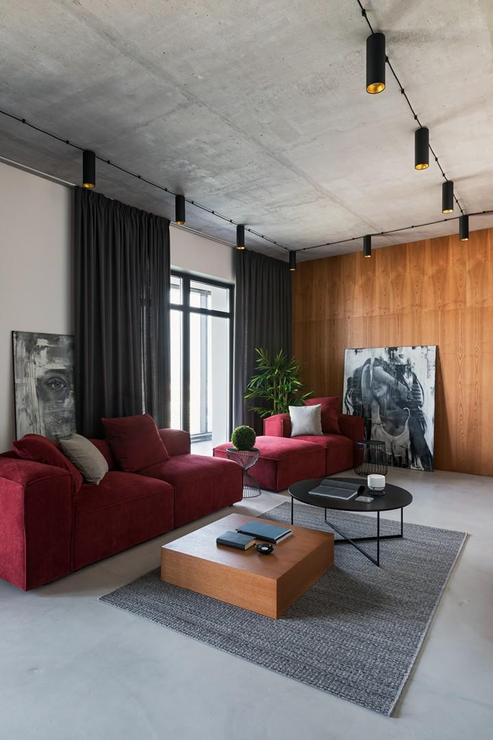 Минималистичная квартира 118 м² в Минске (фото 8)