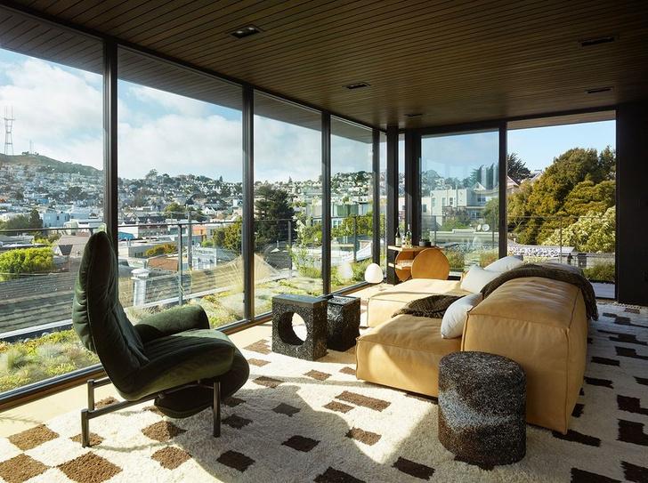 Яркая личность: трехэтажный дом в Сан-Франциско (фото 22)