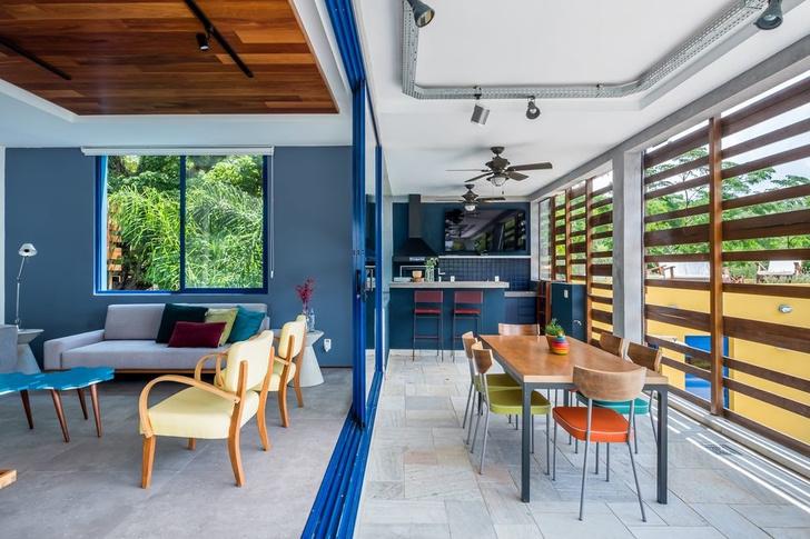 Яркий дом для отдыха на выходных в Сан-Паулу (фото 5)