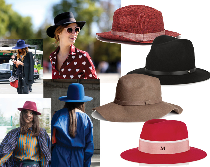 Модные аксессуары весна лето 2015 Шляпа