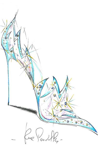 Известные дизайнеры обуви представили свои версии туфель Золушки | галерея [1] фото [2]