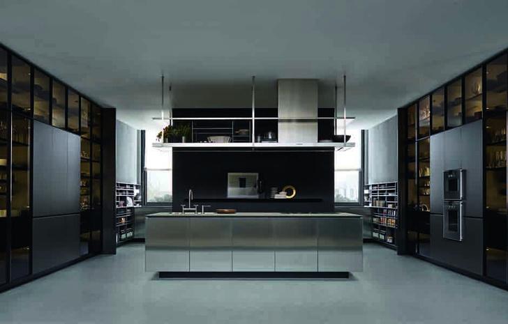 Грани бриллианта: кухня Artex от Varenna фото [1]