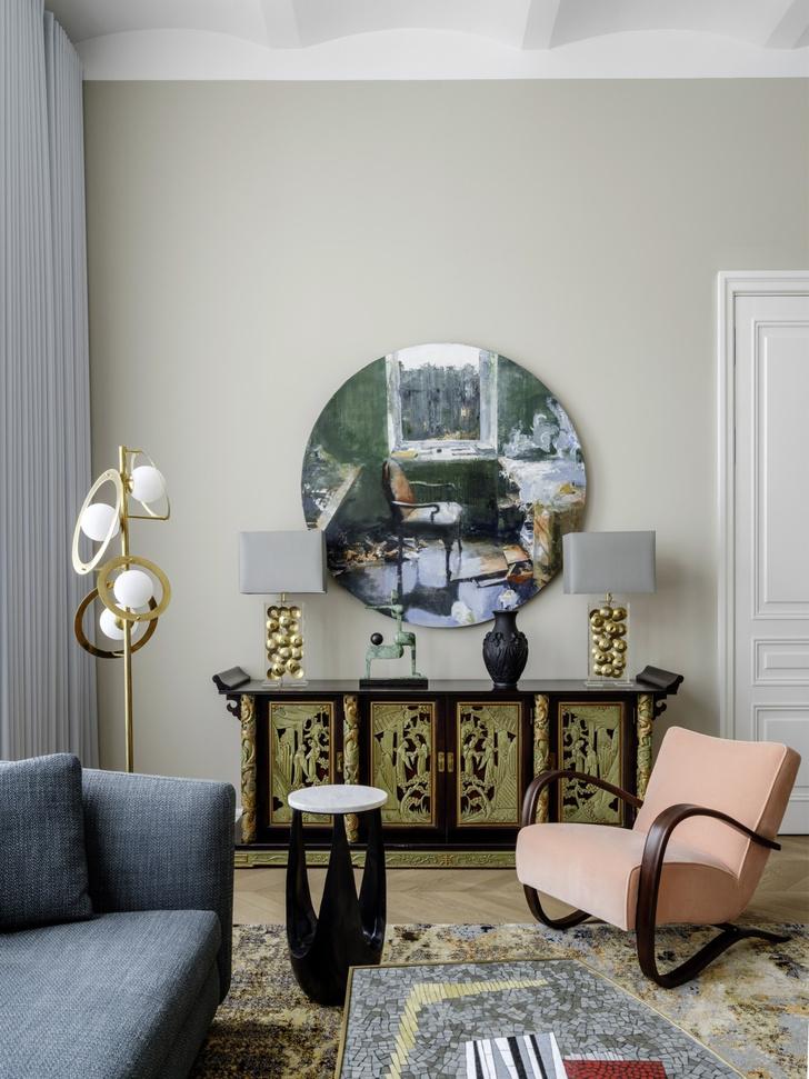 Квартира с предметами искусства: проект Надежды и Гиви Ананьевых (фото 5)