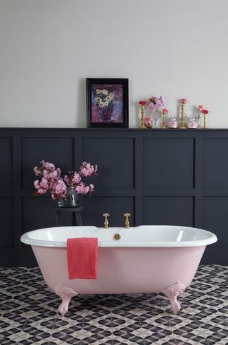 Розовый цвет в интерьере: как использовать и с чем сочетать (фото 12.2)