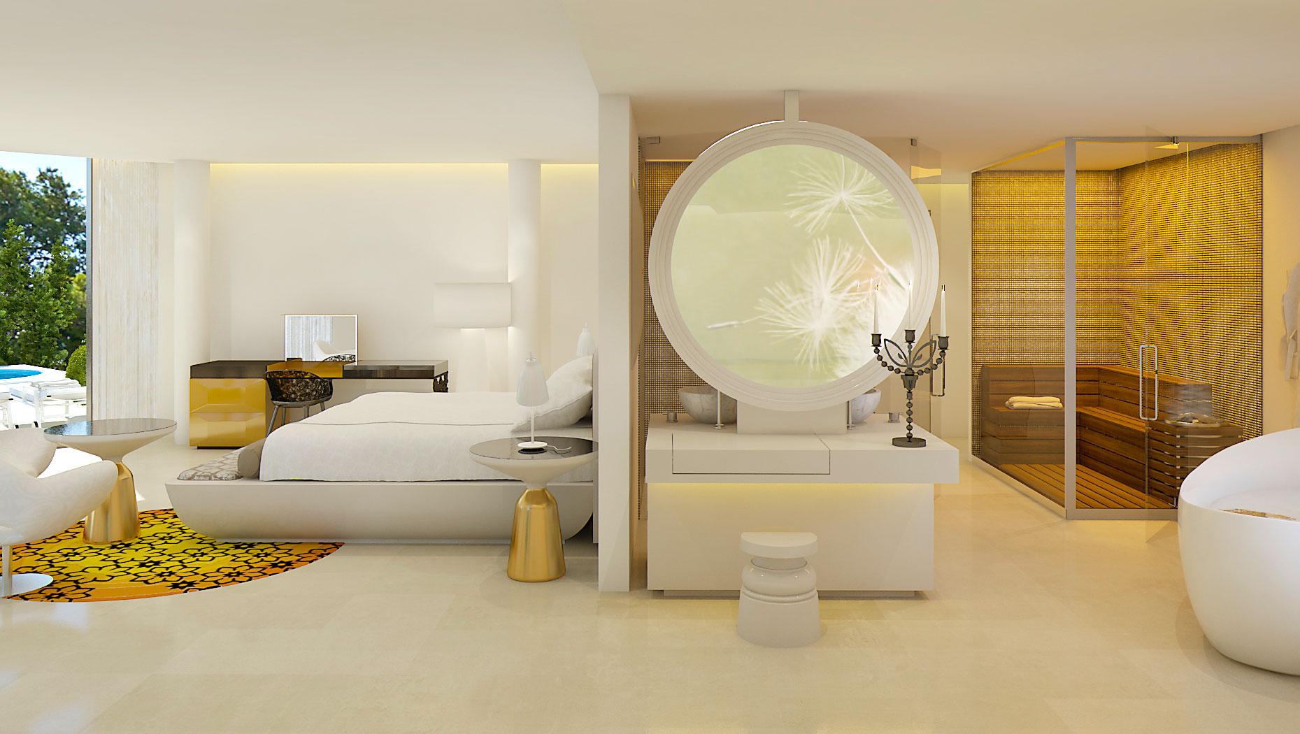 Марсель Вандерс оформил пятизвездочный отель на Майорке   галерея [1] фото [5]
