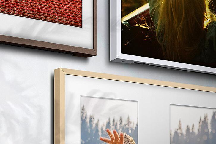 Телевизор - картина Samsung The Frame — искусство в интерьере фото [4]