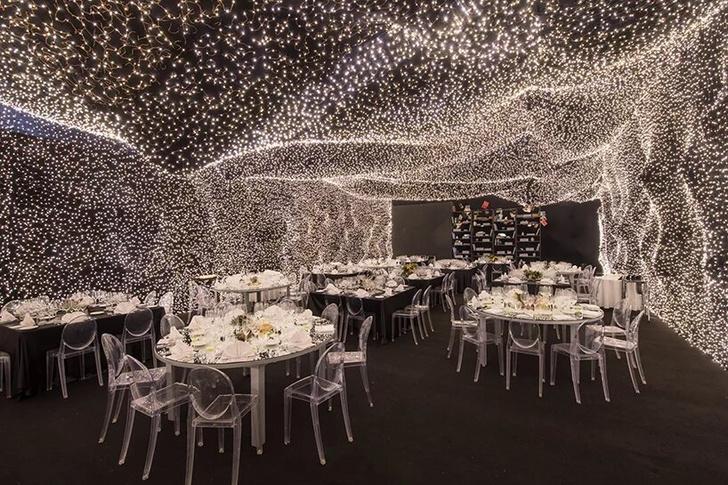 250 000 led-огней украшают ресторан Interstellar в Мехико (фото 2)