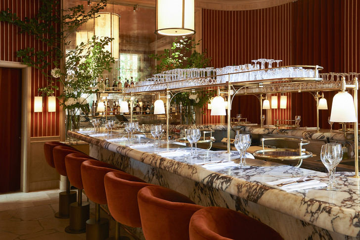 Ресторан Girafe по дизайну Жозефа Дирана в Париже (фото 0)