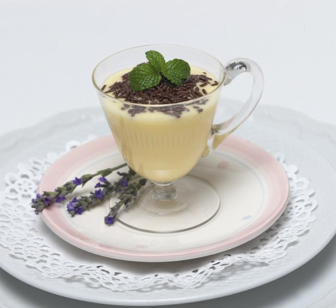 молочно-яичный десерт