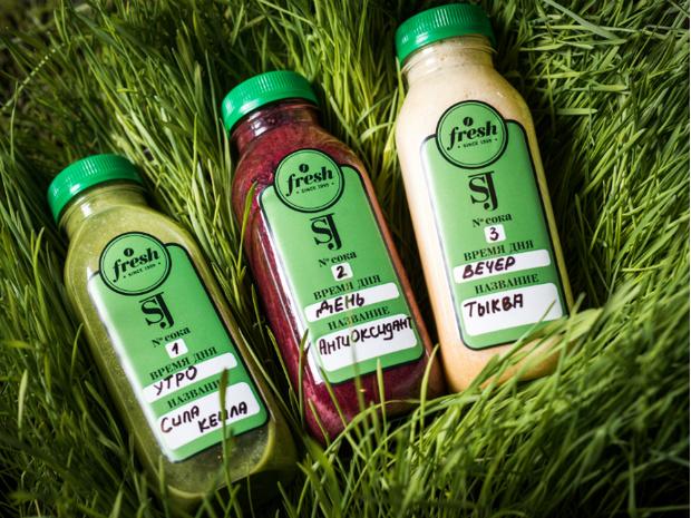 Детокс-программа Smooth Juicing от ресторана Fresh