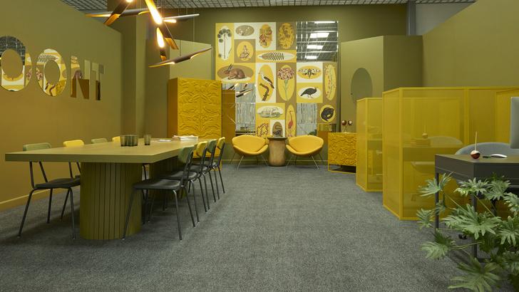 Любовь к цвету: офис интерьерной студии в Бресте (фото 2)