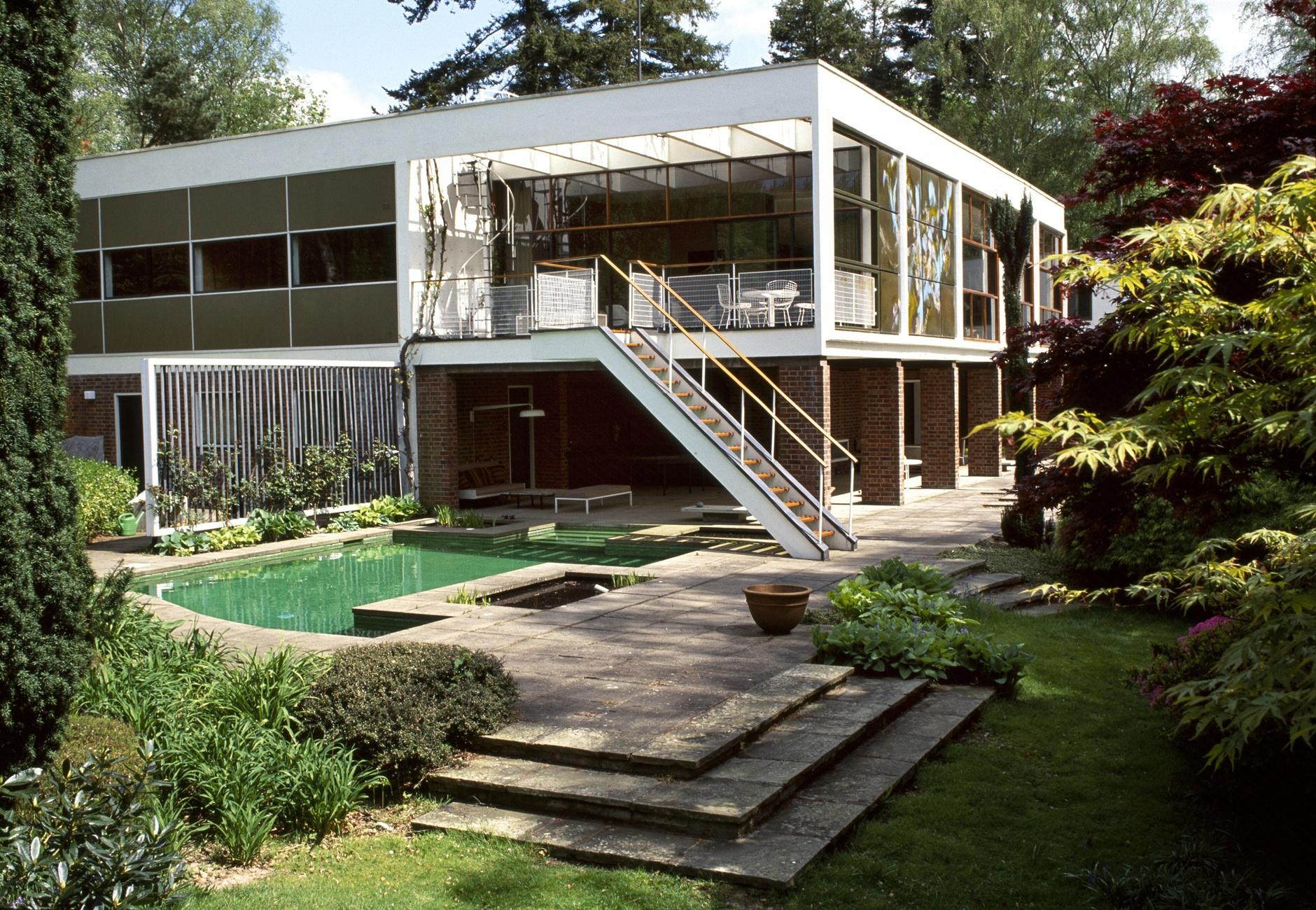 Модные сады в стиле mid-century modern (галерея 2, фото 0)