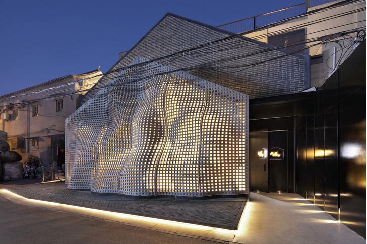 Невесомый бетон: экспериментальный фасад в Пекине (фото 4)