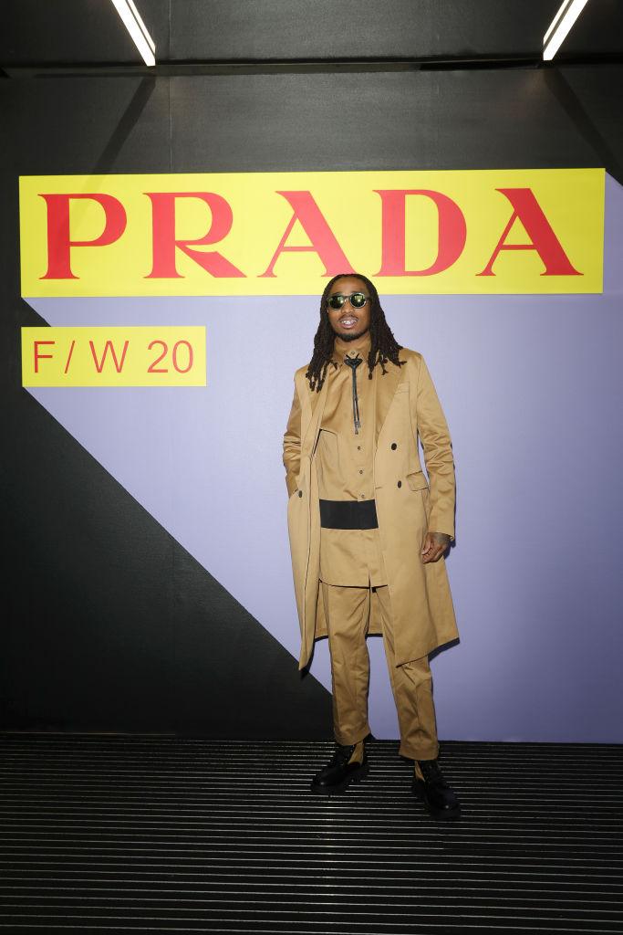 Барбара Палвин, Джильда Амбросио, Кьяра Ферраньи и другие гости показа Prada Menswear Fashion Week (фото 7)