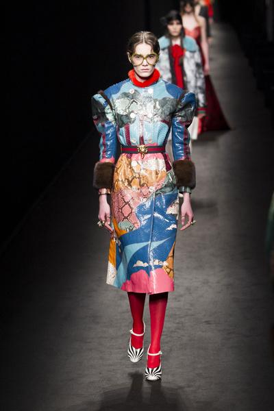 Самые красивые образы Недели моды в Милане   галерея [1] фото [19]