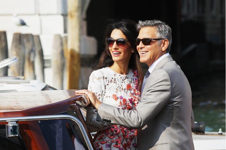 Джордж и Амаль Клуни сыграют вторую свадьбу (фото 1)