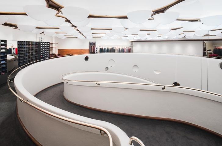 Мода и архитектура: бутик Isaia в здании Фрэнка Ллойда Райта (фото 3)