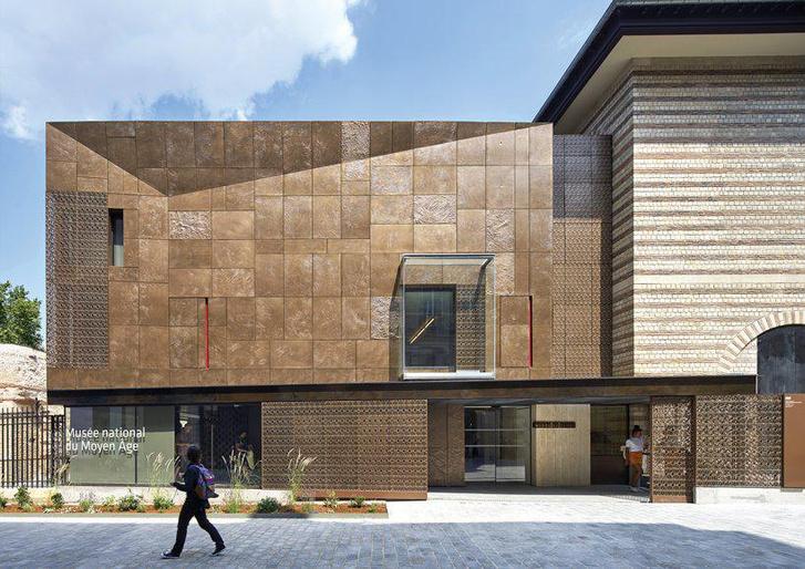 Новый фасад Музея Клюни в Париже (фото 5)