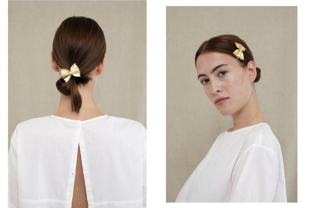 Микро-тренд: ювелирные украшения Trine Tuxen x LuisaViaRoma для любителей пасты (фото 1)