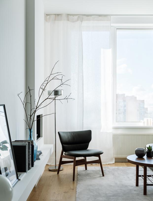 Романтический урбанизм: квартира 99,2 м² в Москве (фото 6)