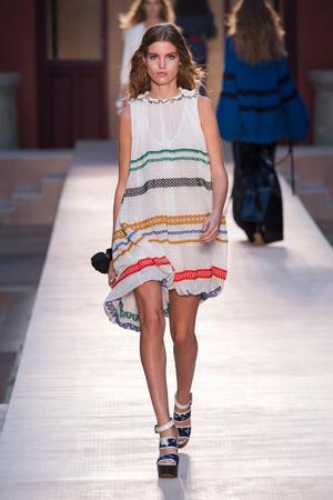 Показы мод Sonia Rykiel Весна-лето  2017 | Подиум на ELLE - Подиум - фото 4729