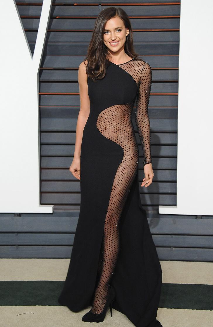 Ирина Шейк в Atelier Versace на афтепати «Оскара»