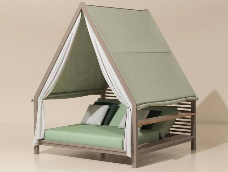 Сон в летнюю ночь. Кровати и лежанки с навесами (фото 6)