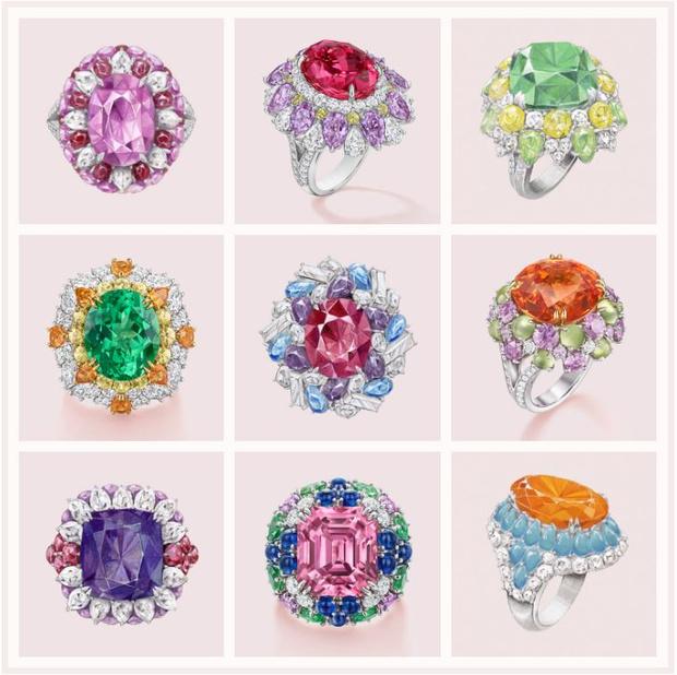 Конфетный рай: коллекция Harry Winston Candy с камнями, напоминающими леденцы (фото 3)