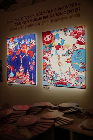 В ГУМе прошел благотворительный аукцион художника Джеки Цая (фото 4)