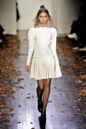 Показы мод Daniel Vosovic Осень-зима 2011-2012 | Подиум на ELLE - Подиум - фото 2355