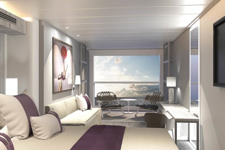 Келли Хоппен и Патрисия Уркиола оформили интерьеры круизного лайнера (фото 2)