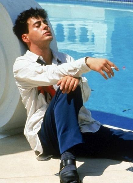 «Меньше нуля» (Less Than Zero), 1987 Роберт Дауни-младший