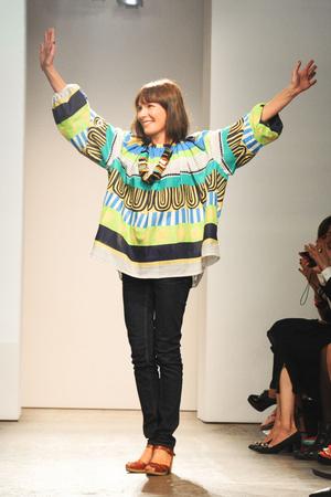 Показы мод Marimekko Весна-лето 2013 | Подиум на ELLE - Подиум - фото 1246