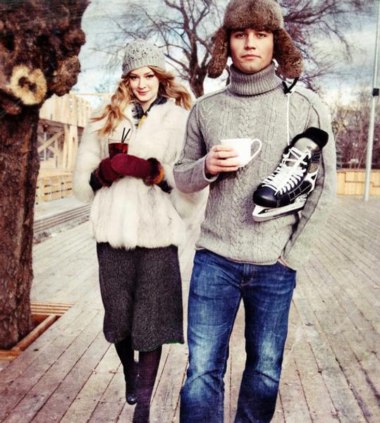 Светлана Ходченкова и Георгий Петришин