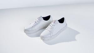 Eco-ELLE: капсульная коллекция обуви Tommy Hilfiger из переработанной яблочной кожуры (фото 1.2)