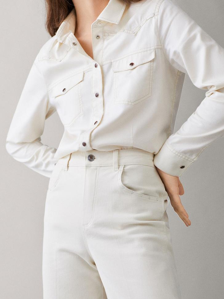 Инструкция: 5 свежих способов носить белоснежные вещи (фото 10)