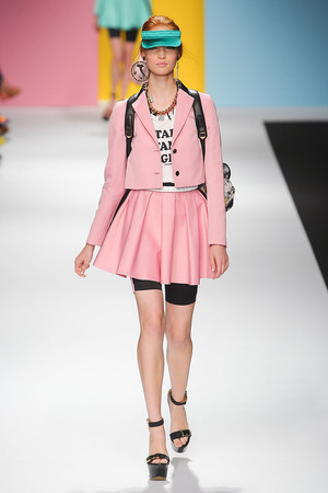Показы мод Frankie Morello Весна-лето 2012 | Подиум на ELLE - Подиум - фото 1876