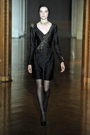 Показ Christian Lacroix коллекции сезона Осень-зима 2009-2010 года haute couture - www.elle.ru - Подиум - фото 87359