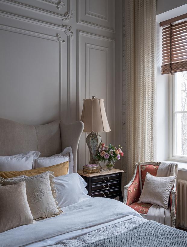 Квартира в классическом стиле на Чистых прудах: проект Дарьи Руссу (фото 7)