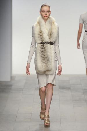 Показ Amanda Wakeley коллекции сезона Осень-зима 2011-2012 года prêt-à-porter - www.elle.ru - Подиум - фото 242141