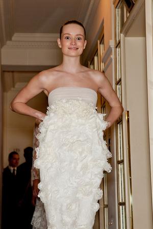 Показ Giambattista Valli коллекции сезона Весна-лето 2012 года Haute couture - www.elle.ru - Подиум - фото 330950