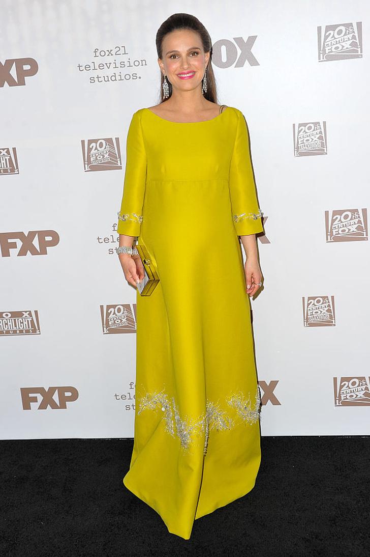 Натали Портман в Christian Dior на «Золотом глобусе-2017»
