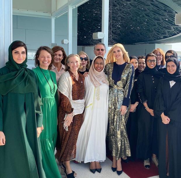 Арабская сказка: Иванка Трамп в Абу-Даби (фото 5)