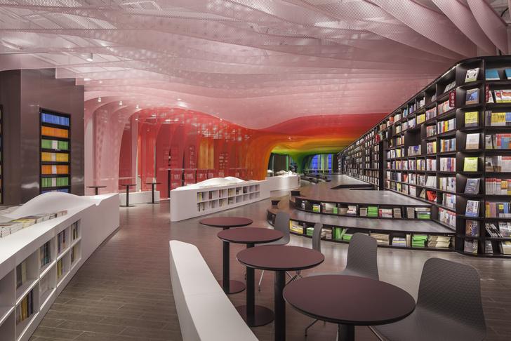 Радужный книжный магазин в Китае (фото 6)